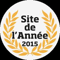 Logo Site de l'Année