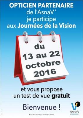 Les journées de la vision 2016