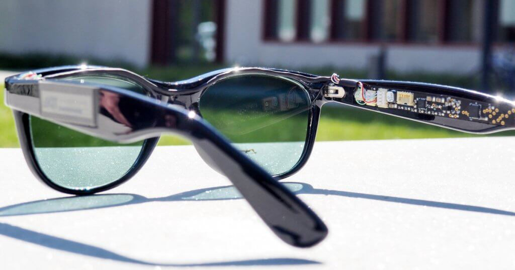 Génerer de l'electricité grâce aux lunettes